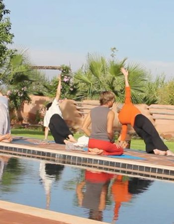 Yoga with Perumal Marrakech